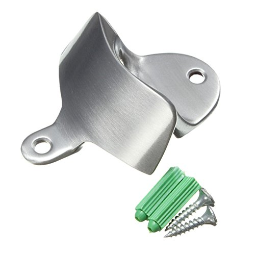 1pc Aluminum Metal Tool Crown Polished Wall Mount Bottle Opener Beer 8 Cmx6.5 Cmx3 Cm (Broncos Wall Mount Bottle Opener compare prices)