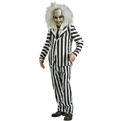 Beetlejuice Costume - X-Large - Chest Size 44-46