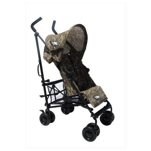Philadelphia Eagles Camouflage Umbrella Stroller front-1033059
