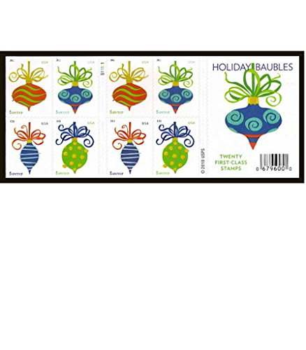 usps-forever-stamps-holiday-baubles-booklet-of-20