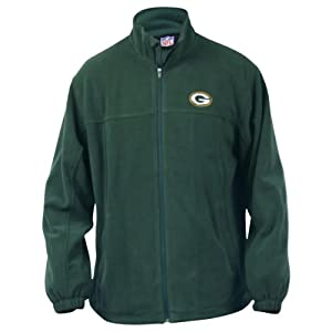 Green Bay Packers Full Zip Lined Fleece Jacket from NFL