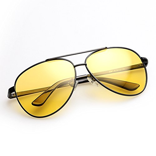 Mr.Six-High Quality Polarized Yellow glasses For Night,Driving Glasses