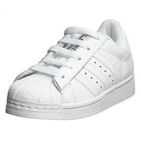 huge selection of 1a493 808dc adidas Originals Infant Toddlers  Superstar II Basketball Shoe