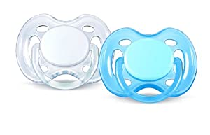 Philips AVENT SCF178/23 BPA-Free Free-Flow Soothers (0-6 Months) 2 Pack