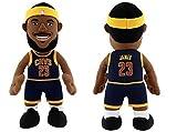 "LeBron James Cleveland Cavaliers Navy 10"" Plush doll Figure bleacher creature"