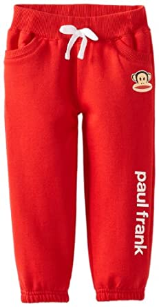 Paul Frank Big Girls Classic Fleece Pant Red XLG