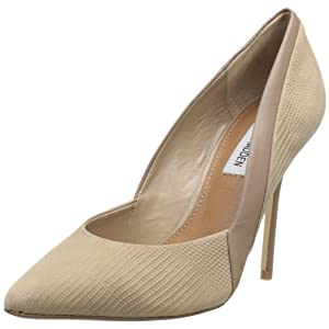 Steve Madden Women's Clydee Pump,Taupe Multi,7.5 M US