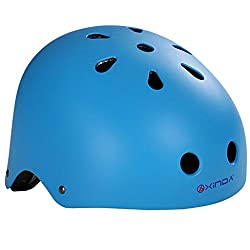 Impoted Frosted Blue Safety Helmet Climbing Caving Helmet For Rappelling Rescue L