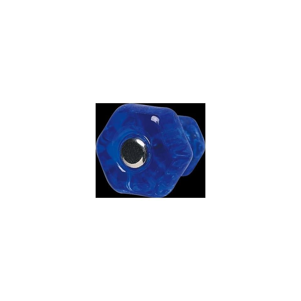 Cabinet Knobs Blue Glass, 1 in. Diameter Knob  11003