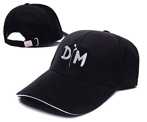 JINGWEN-Depeche-Mode-Dm-Logo-Hat-Embroidery-Baseball-Cap-Kappe