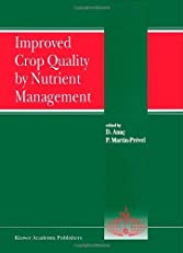 Improved Crop Quality by Nutrient Management (Developments in Plant and Soil Sciences)