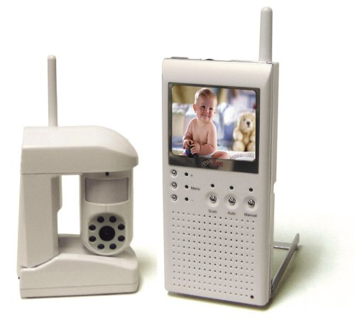 Q-See QSW25C 2.5-Inch TFT Baby Monitoring System w/Wireless Camera - 1