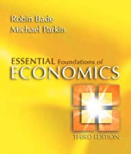 Essential Foundations of Economics by Robin Bade