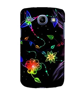printtech Colored pattern streak Back Case Cover for Samsung Galaxy A5 / Samsung Galaxy A5 A500F