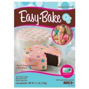 Easy Bake Oven Red Velvet Strawberry Cake Instructions