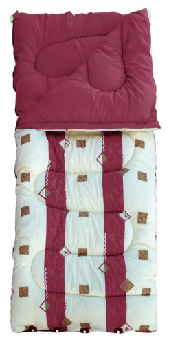 Royal Umbria 60oz Super King Sleeping Bag Burgundy