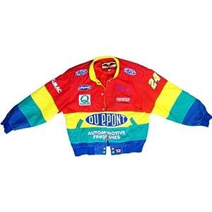 Jeff Gordon Unsigned Authentic Corduroy Jacket by Memorabilia