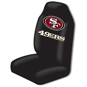 Amazon Com Nfl San Francisco 49ers Car Seat Cover Sports