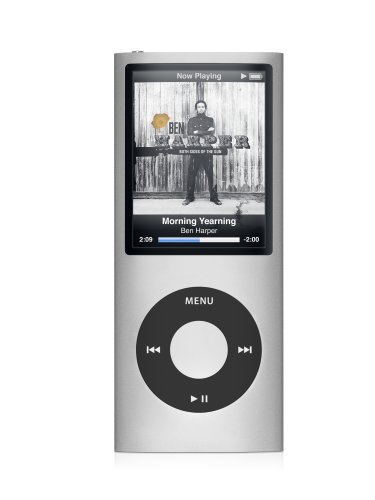 Apple iPod nano 8 GB Silver (4th Generation) OLD MODEL