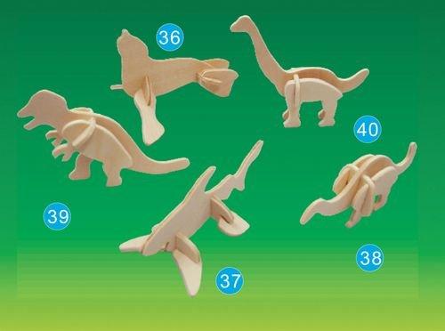 Picture of Puzzled Tyrannosaurus- Mini 3D Puzzle (B002X2ZELI) (3D Puzzles)
