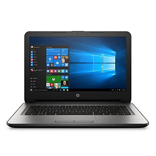 HP 14-an013nr 14-Inch Notebook (AMD E2, 4GB RAM, 32 GB Hard Drive) with Windows 10
