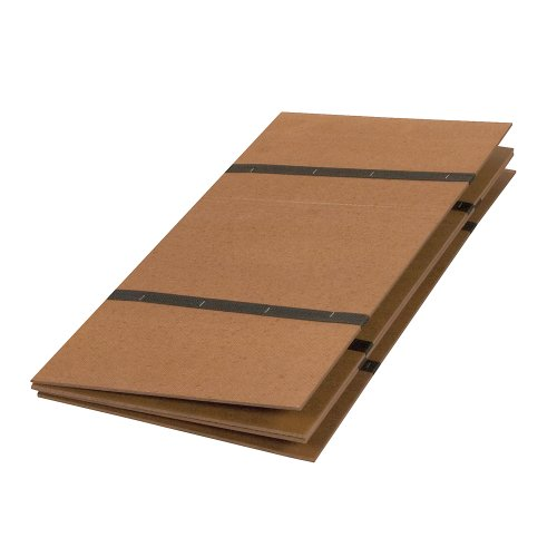 Mabis Dmi Healthcare Folding Bed Boards, Brown, One front-260185