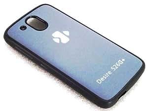 Techno TrendZ™ New Imported Premium Quality Designer Logo Series Printed Soft + Semi Hard Silicone Back Case COver Shell Guard For HTC Desire 526G + Dual sim , HTC 526 G Plus