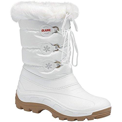 Olang patty 2012-Stivali da donna, colore: bianco