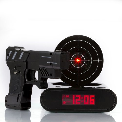 Lock N' load Gun Alarm Clock