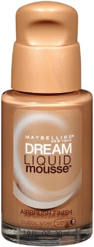 Maybelline New York Dream Liquid Mousse Foundation, Classic Ivory Light 2, 1 Fluid Ounce thumbnail