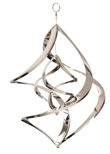 Home2Garden - Stainless Steel Large Nova Garden Wind Sculpture