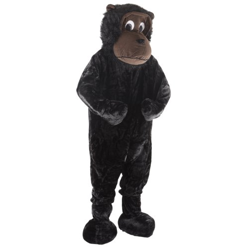 Giant Gorilla Mascot Fancy Dress Events Costume One Sz