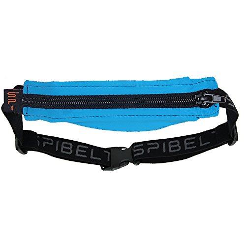 SPIBELT スパイベルト Water Proof w/Loksak 万能防水ケース付き 7BL-A008-001-WP ターコイズ/ブラック ジッパー ウエストポーチ 小物入れ並行輸入品