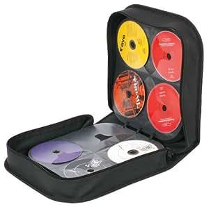 256 CD DVD DISC PORTABLE ZIP CARRY CASE STORAGE HOLDER
