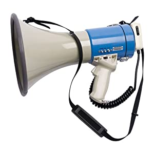SSG BSN 1248531 800 Yard Range Voice Recording Megaphone by SSG