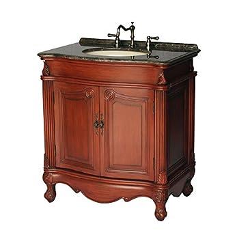 32-Inch Antique Style Single Sink Bathroom Vanity Model 2917-32 MXC