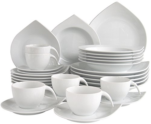 Creatable 16199 s rie cora service 4045486161995 cuisine for Service de table cora