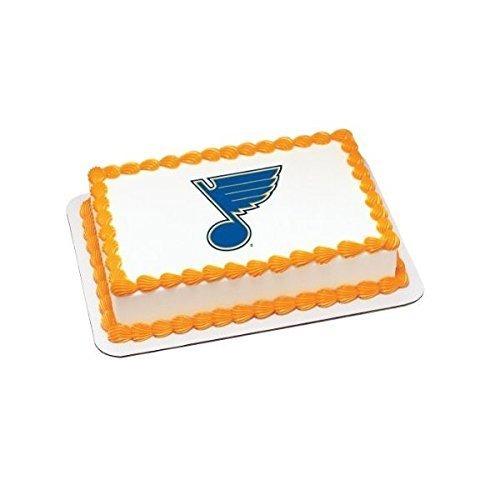 NHL St Louis Blues Edible Image - 1