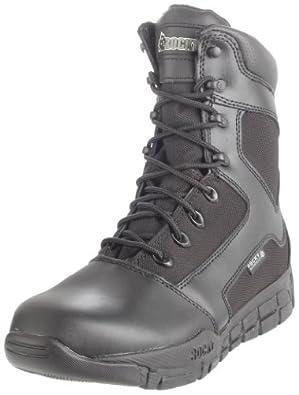 Rocky Men's Duty Light Waterproof Work Boot,Black,10 M US