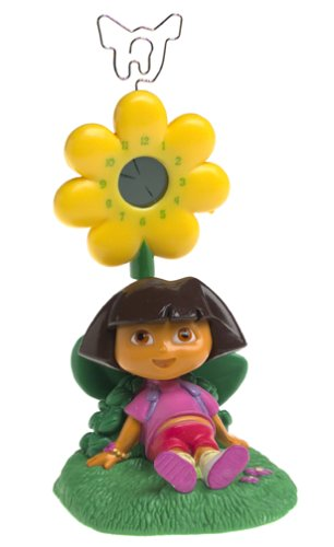 Dora The Explorer Daydreaming Spring Clock And Picture Holder - 1
