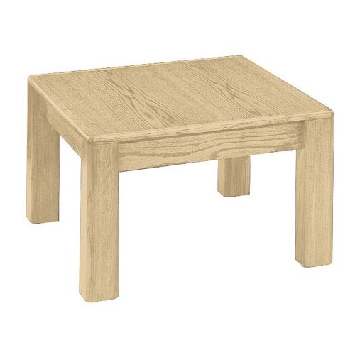 Cheap Faustino Chair Factory Wood End Table (24X24X18)
