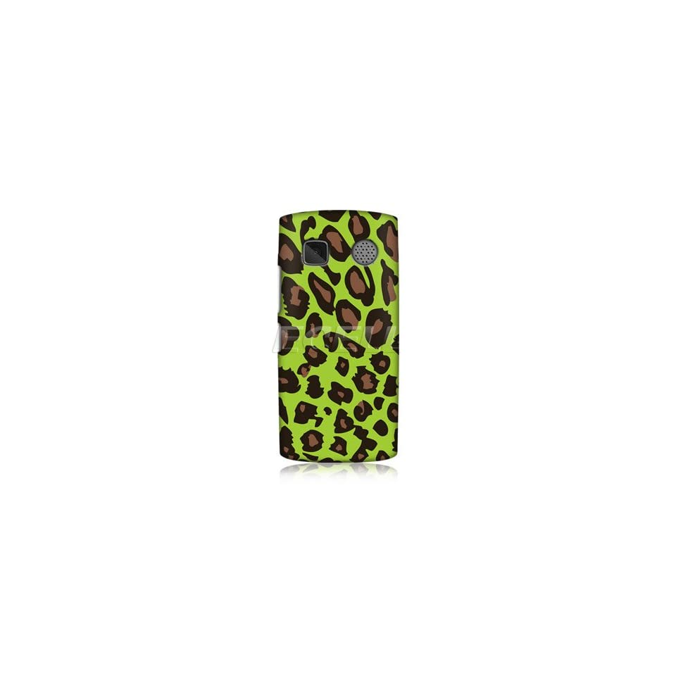 Ecell   HEAD CASE DESIGNS EXOTIC GREEN LEOPARD PRINT BACK
