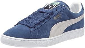 Puma Suede Classic+ - Zapatillas de cuero hombre, color azul, talla 42