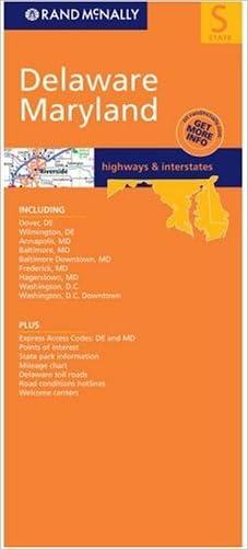 Delaware/Maryland (Rand McNally Folded Map: States)
