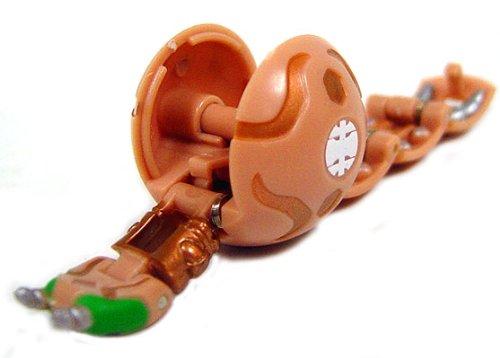 Battle For Terra Toys : Bakugan loose booster sub terra tan centipoid toy