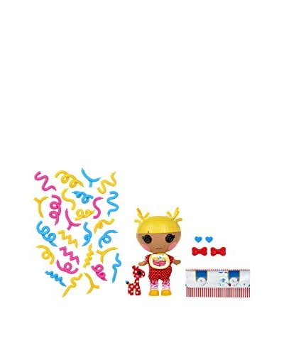 Bandai Lalaloopsy Muñeca Littles Silly Hair Doll Scribbles Splash