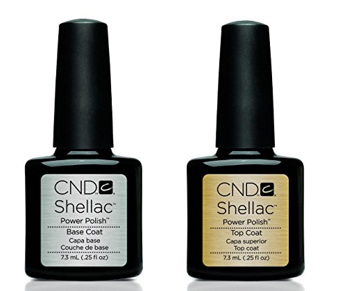 cnd shellac smalto gel power uv base and top coat. Black Bedroom Furniture Sets. Home Design Ideas