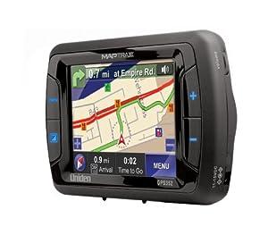 Uniden GPS-352 MapTrax 3.5-Inch Portable GPS Navigator