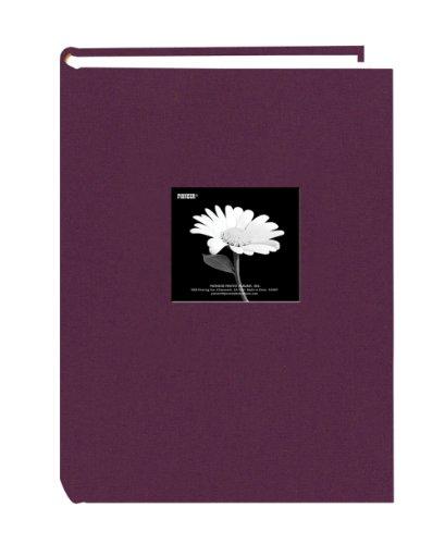 Pioneer 300 Pocket Fabric Frame Cover Photo Album, Wildberry Purple