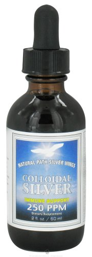 Colloidal Silver 250ppm - 2 oz - Liquid
